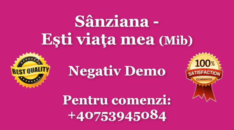 Esti viata mea – Mi bemol – Sanziana – Negativ Karaoke Demo by Gabriel Gheorghiu