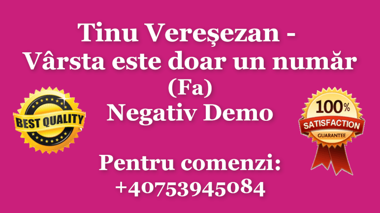 Varsta este doar un numar – Fa – Tinu Veresezan – Negativ Karaoke Demo by Gabriel Gheorghiu