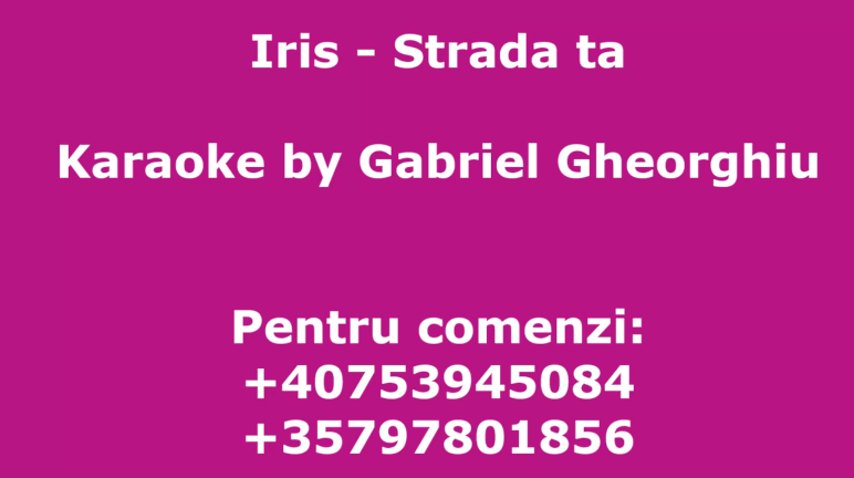 Strada ta – Iris