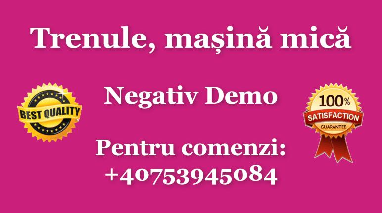 Trenule, masina mica – Negativ Karaoke Demo by Gabriel Gheorghiu