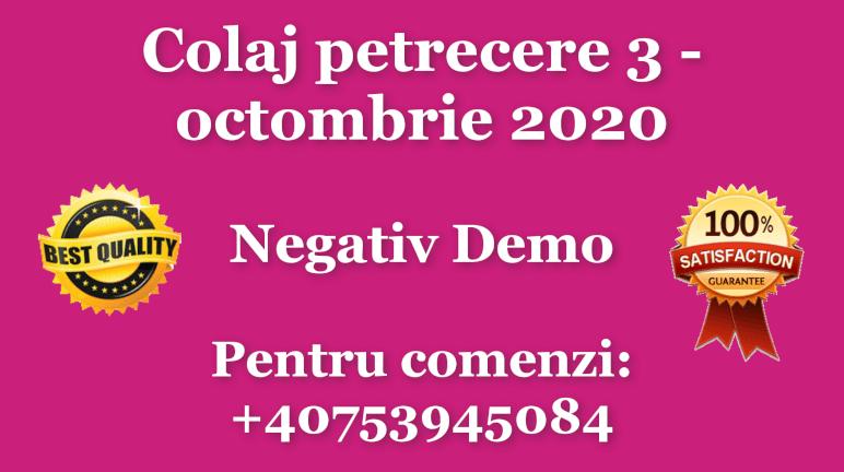 Colaj petrecere 3 – octombrie 2020