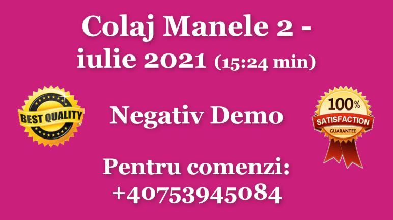 Colaj Manele 2 – iulie 2021 – Negativ Karaoke Demo