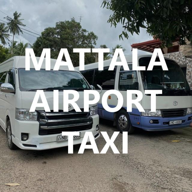 Mattala airport taxi