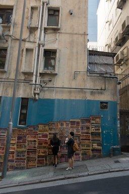 street art of poor living