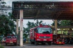 Feuerwehr-Tuktuk