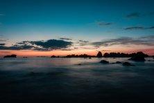 Sunset geglättet
