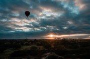 "Der ""schlechtere"" Bagan Sonnenaufgang"