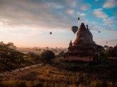 """Der """"bessere"""" Bagan Sonnenaufgang"""