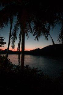 sunset Mekong