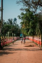 children and temples
