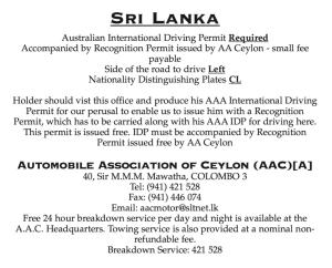 How To Get An International Driving Licence Sri Lanka Tuktuk Rental