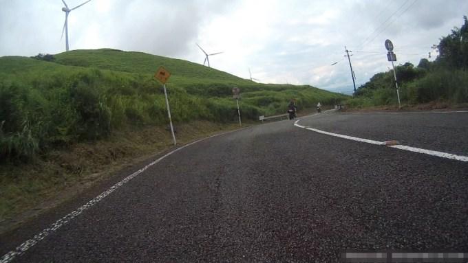俵山峠の風力発電
