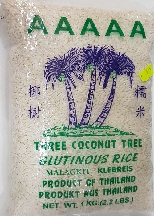 Tree Coconut Tree Jasmine Glutinous Rice, Klebreis