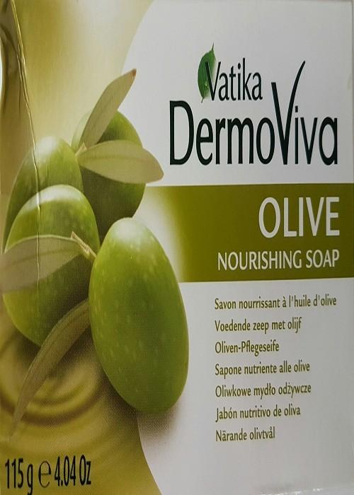 Vatika Dermoviva Olive Nourishing Soap