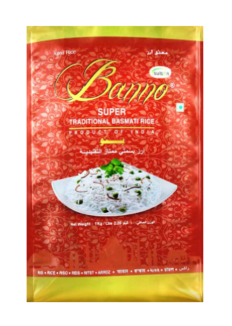 Banno Super Basmati Rice-red, Reis. Tukwila online grocery store in Germany