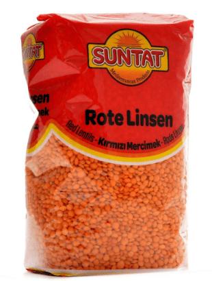 Red Lentils, Masoor Dal, Rote Linsen, Tukwila-Zazu Online grocery shop in Germany