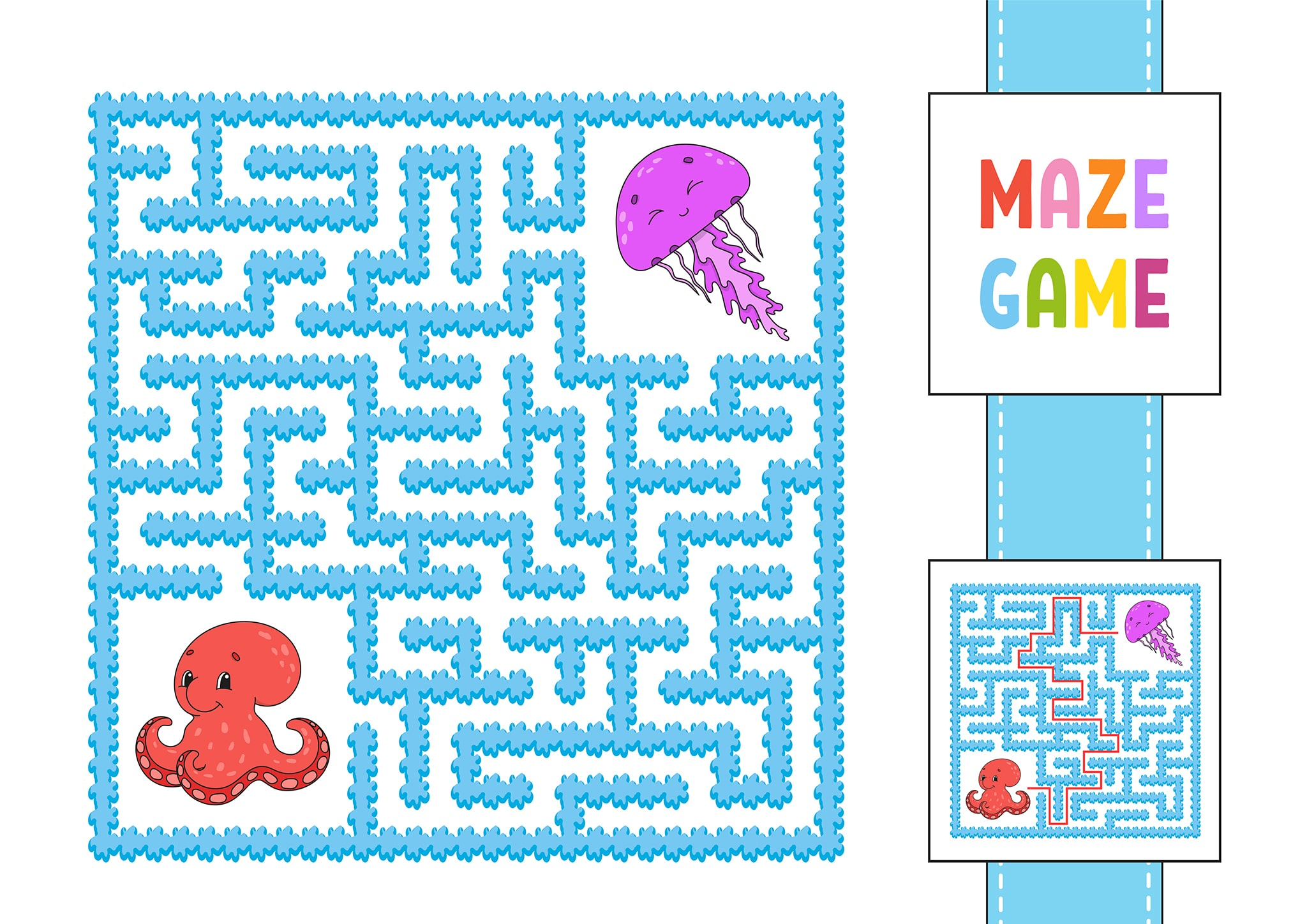 Free Simple Maze Printables For Preschoolers And