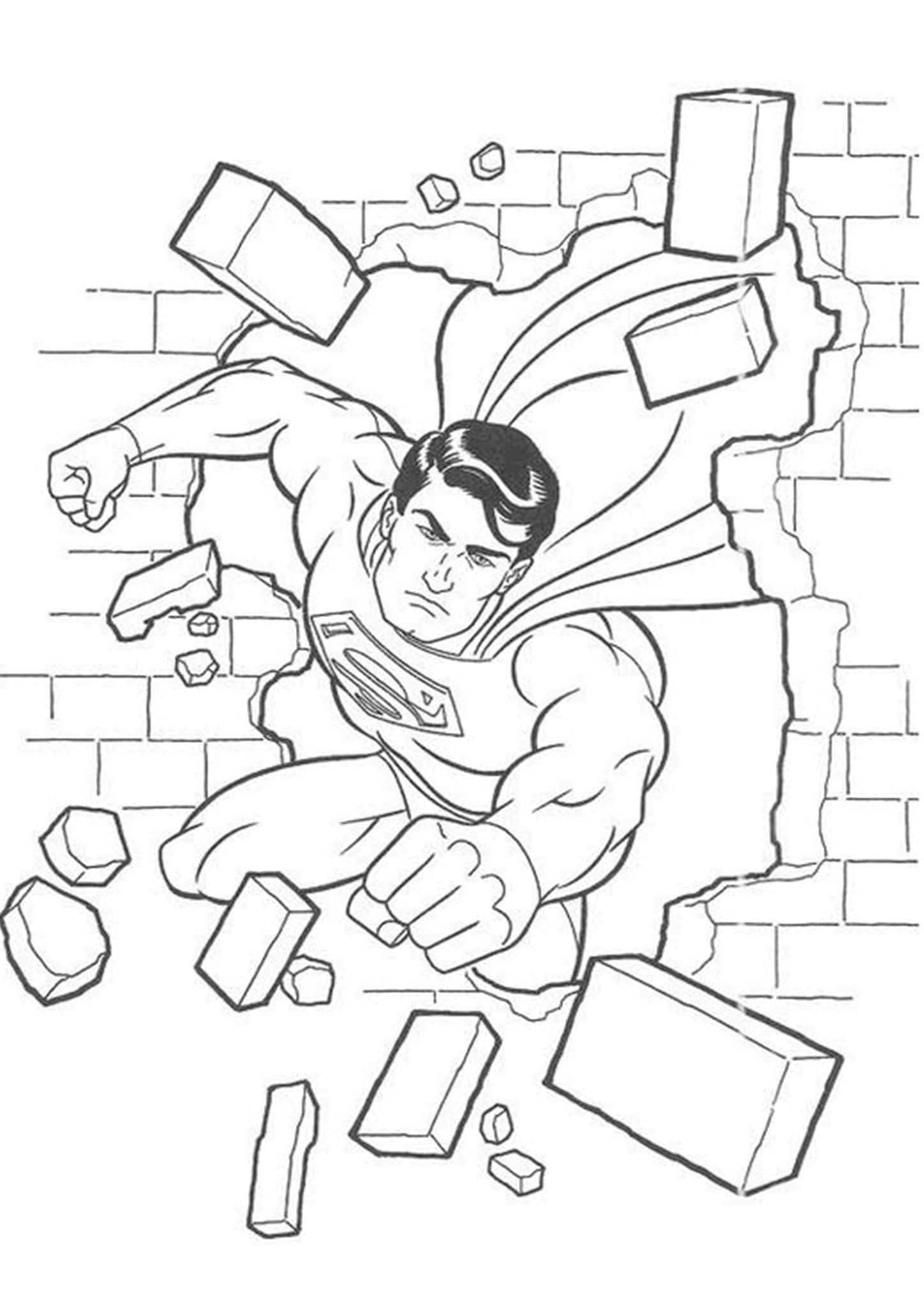 Free easy print superman coloring pages tulamama, superhero coloring pages