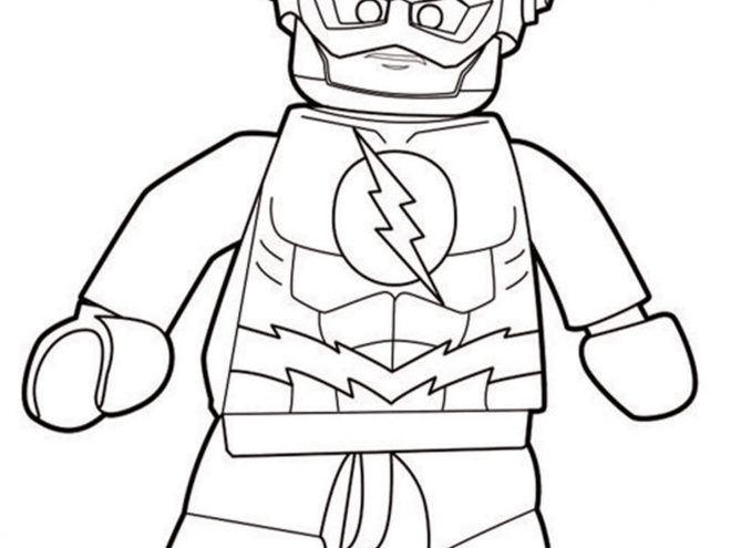 Free Easy To Print Flash Coloring Pages Tulamama