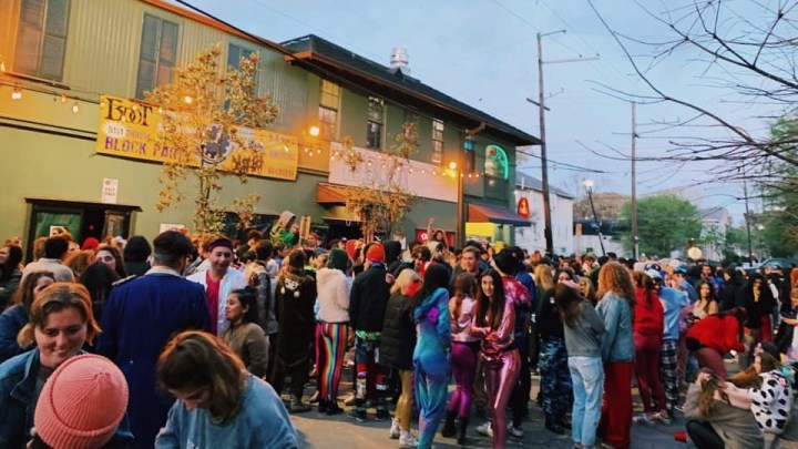 Tulane Mardi Gras: Invite Only