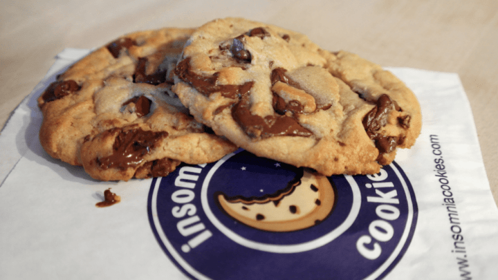 Eating Good Late Night: Insomnia Cookies Opens at Tulane