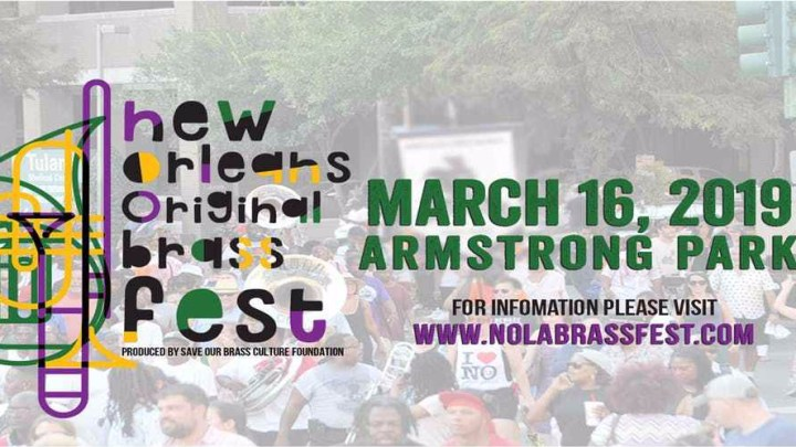 You Won't Want to miss NOLA Brass Fest