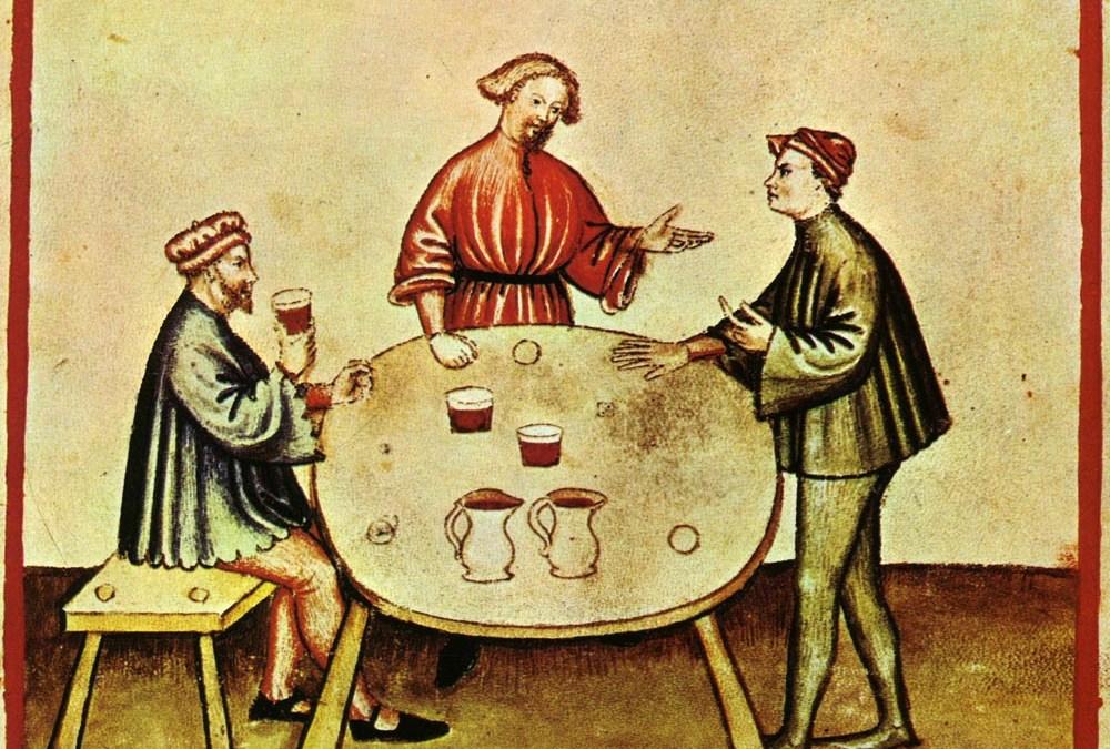 Tacuinum Sanitatis y los excesos de las fiestas (Feliz año nuevo)