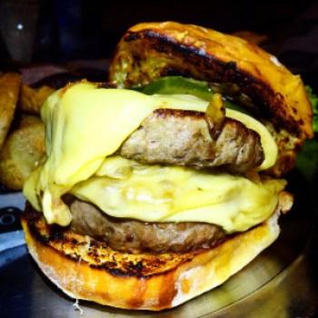 hamburguesa humo
