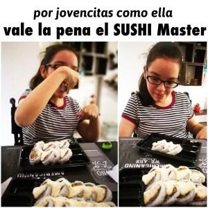 sushi master jovencita valeria