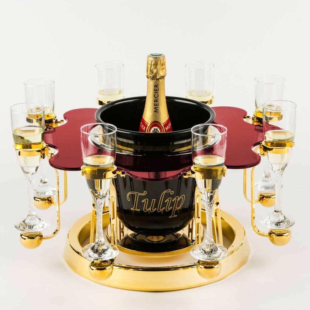 Tulip By Germain luxury champagne bucket Elegance edition Mercier