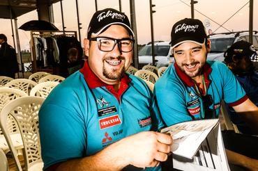 Fred e Nick Macedo da Pajero TR4 ER Master. Foto: Sanderson Pereira