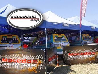 Macedo's Rally Team conquista três pódios na etapa de abertura da Mitsubishi Cup