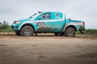 Superação e garra de Sandra/Josi no Rally Rota SC. Foto: Gustavo Epifânio/DFotos