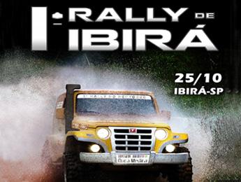 Programação 1º Rally de Ibirá