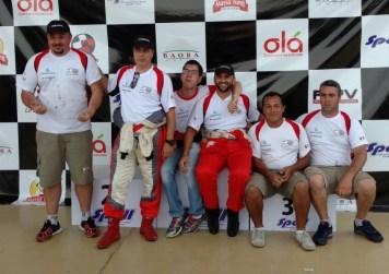 Equipe Acelera Siriema é pentacampeã paulista de Rally de Velocidade. Foto: Divulgação
