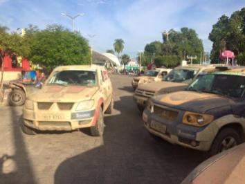Chegada. Foto: Araponga Rally