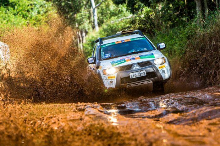 Aventura e muita diversão nas trilhas Crédito: Cadu Rolim / Mitsubishi