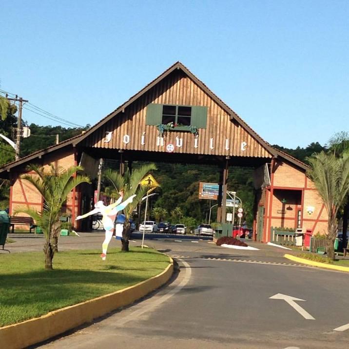 Chegando em Joinville