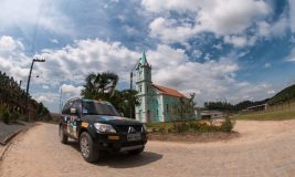 Belas paisagens marcaram a prova Crédito: Marcio Machado / Mitsubishi