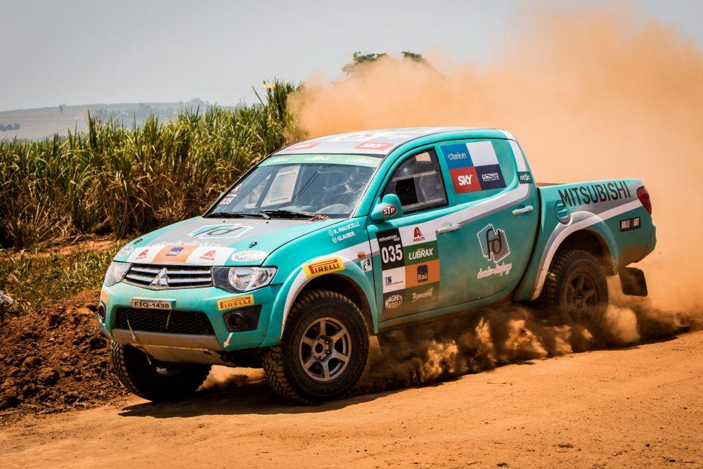 Rali é divido em cinco categorias Crédito: Adriano Carrapato / Mitsubishi