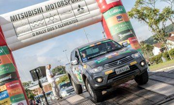 O rali é dividido em três categorias: Graduados, Turismo e Turismo Light Crédito: Marcio Machado / Mitsubishi