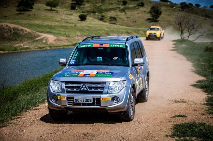 Categorias Graduados e Turismo percorreram 180 km Crédito: Tom Papp / Mitsubishi