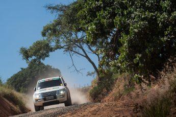 Prova passará por estradas com cascalho e áreas de reflorestamento Crédito: Gustavo Epifânio / Mitsubishi