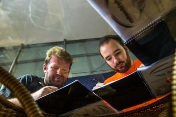 Pilotos e navegadores precisaram traçar estratégia para dois dias de prova Crédito: Ricardo Leizer/Mitsubishi