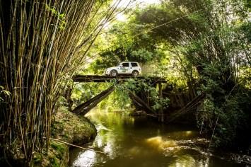 Trilhas e estradas da região são os cenários da aventura Crédito: Ricardo Leizer / Mitsubishi
