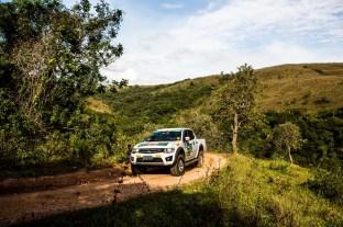 Prova explorou a região de Tiradentes Crédito: Ricardo Leizer / Mitsubishi