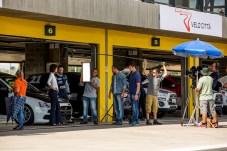 Isabel Wilker também participou das cenas no interior de São Paulo Crédito: Ricardo Leizer / Mitsubishi