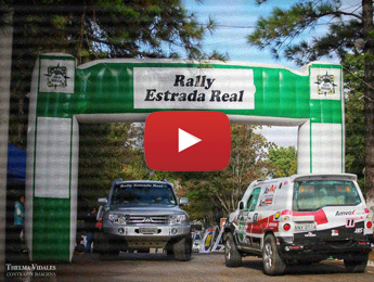 Começo do 3º dia de Rally Estrada Real