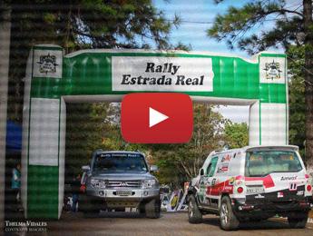 Começo do 3º dia de Rally Estrada Real