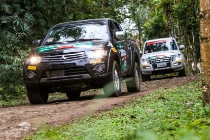Muitas trilhas e estradas pelo interior do Paraná Crédito: Cadu Rolim / Mitsubishi